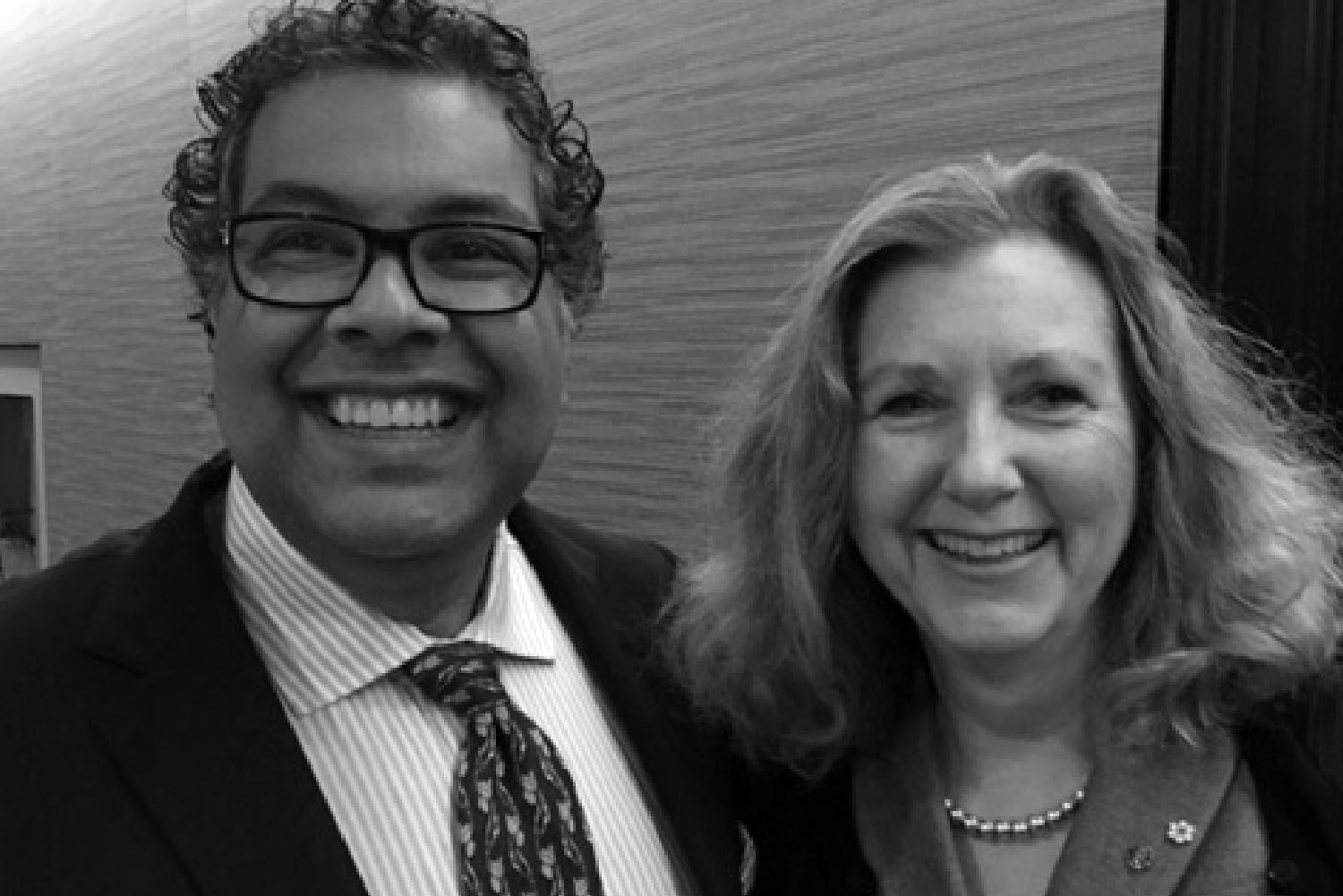 Mary Gordon and Naheed Nenshi